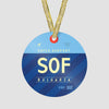 SOF - Ornament - Airportag