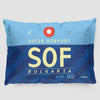 SOF - Pillow Sham - Airportag