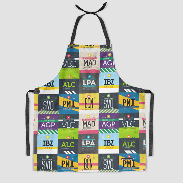 Spanish Airports Kitchen Apron