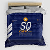 SQ - Duvet Cover - Airportag