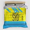 SYD - Duvet Cover - Airportag