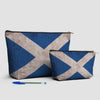Scottish Flag - Pouch Bag - airportag  - 3