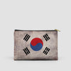 South Korean Flag - Pouch Bag - Airportag