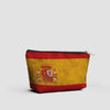 Spanish Flag - Pouch Bag - Airportag