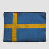 Swedish Flag - Pouch Bag - airportag  - 4