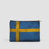 Swedish Flag - Pouch Bag - airportag  - 5