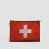 Switzerland Flag - Pouch Bag - Airportag