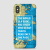 The World Is - Phone Case - Airportag