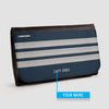 Pilot Stripes - Wallet - Airportag