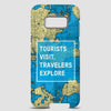 Tourists Visit - Phone Case - Airportag