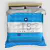 TS - Duvet Cover - Airportag