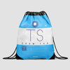 TS - Drawstring Bag - Airportag