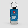 TUS - Leather Keychain - Airportag