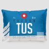 TUS - Pillow Sham - Airportag