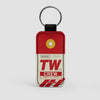 TW - Leather Keychain