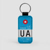 UA - Leather Keychain - Airportag