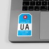 UA - Sticker - Airportag