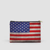 USA Flag - Pouch Bag - Airportag