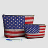 USA Flag - Pouch Bag - airportag  - 3