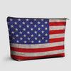 USA Flag - Pouch Bag - airportag  - 1