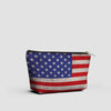 USA Flag - Pouch Bag - airportag  - 2