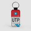 UTP - Leather Keychain - Airportag