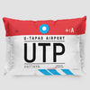 UTP - Pillow Sham - Airportag