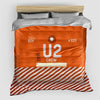U2 - Duvet Cover - Airportag