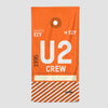 U2 - Beach Towel - Airportag