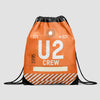 U2 - Drawstring Bag - Airportag