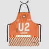 U2 - Kitchen Apron - Airportag
