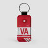 VA - Leather Keychain - Airportag