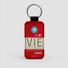 VIE - Leather Keychain - Airportag