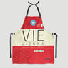 VIE - Kitchen Apron - Airportag