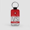 VS - Leather Keychain - Airportag