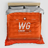 WG - Duvet Cover - Airportag