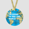 I'm Going - World Map - Ornament