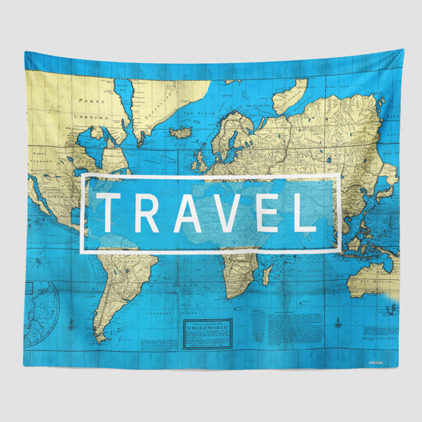 Wall tapestry travel world map travel inspired tapestries travel world map wall tapestry gumiabroncs Image collections