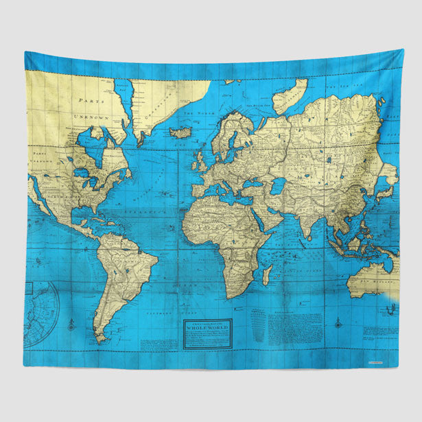 World map and travel quotes products page 5 airportag world map wall tapestry gumiabroncs Images