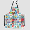 Worldwide Airports - Kitchen Apron - Airportag