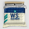 WS - Duvet Cover - Airportag