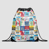 XL Airports USA - Drawstring Bag - Airportag