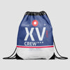 XV - Drawstring Bag - Airportag