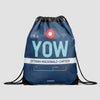 YOW - Drawstring Bag - Airportag