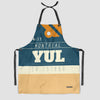 YUL - Kitchen Apron - Airportag