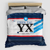 YX - Duvet Cover - Airportag