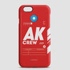 AK - Phone Case - airportag  - 1