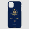 Australia - Passport Phone Case airportag.myshopify.com