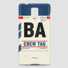 BA - Phone Case - airportag  - 2