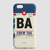 BA - Phone Case - airportag  - 1